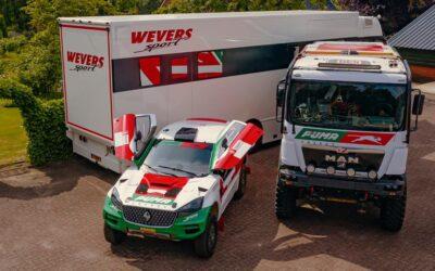 El Pato Silva correrá el Dakar 2022 con un camión