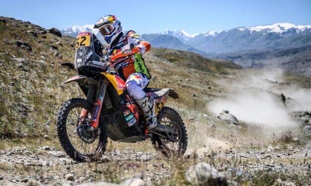 Matthias Walkner ganó el Silk Way Rally 2021 en motos