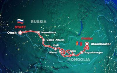 El recorrido del Silk Way Rally, etapa por etapa