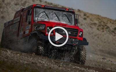 Video: lo mejor de la etapa 4 del Silk Way Rally 2021