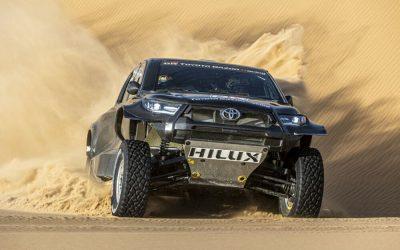 Toyota presenta la nueva GR DKR HILUX T1+ y cuatro parejas para el Dakar 2022