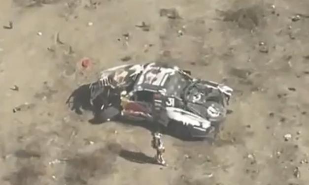Andy McMillin sufrió un grave accidente y quedó fuera de la Baja 400