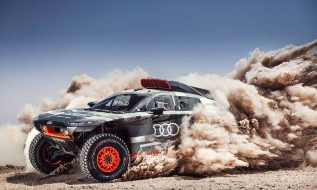 Fotos y video: El Audi RS Q e-tron para el Dakar 2022 en detalle