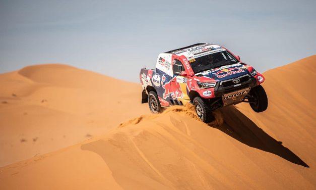 Al-Attiyah y Rodrigo Luppi ganaron la etapa 2 del Rallye du Maroc