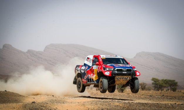 Al-Attiyah y Joan Barreda comienzan dominando en Marruecos