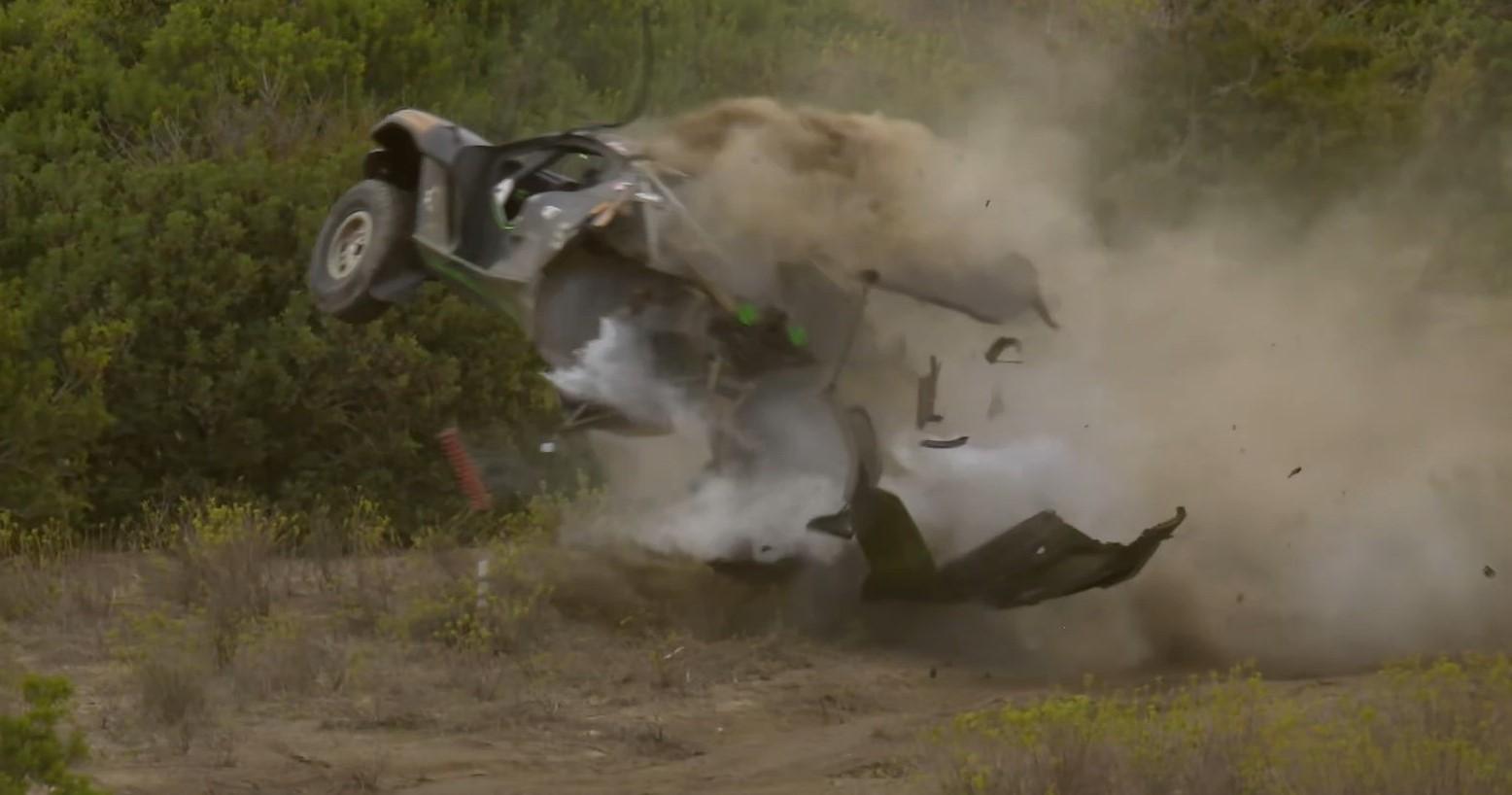 Video: Duro accidente de Sarrazin en la Extreme E en Cerdeña