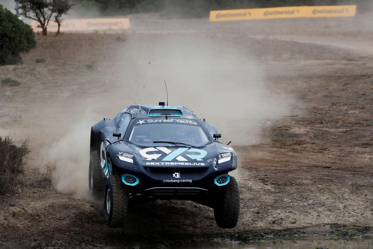 Extreme E: El Rosberg X Racing logró su tercera victoria en Cerdeña