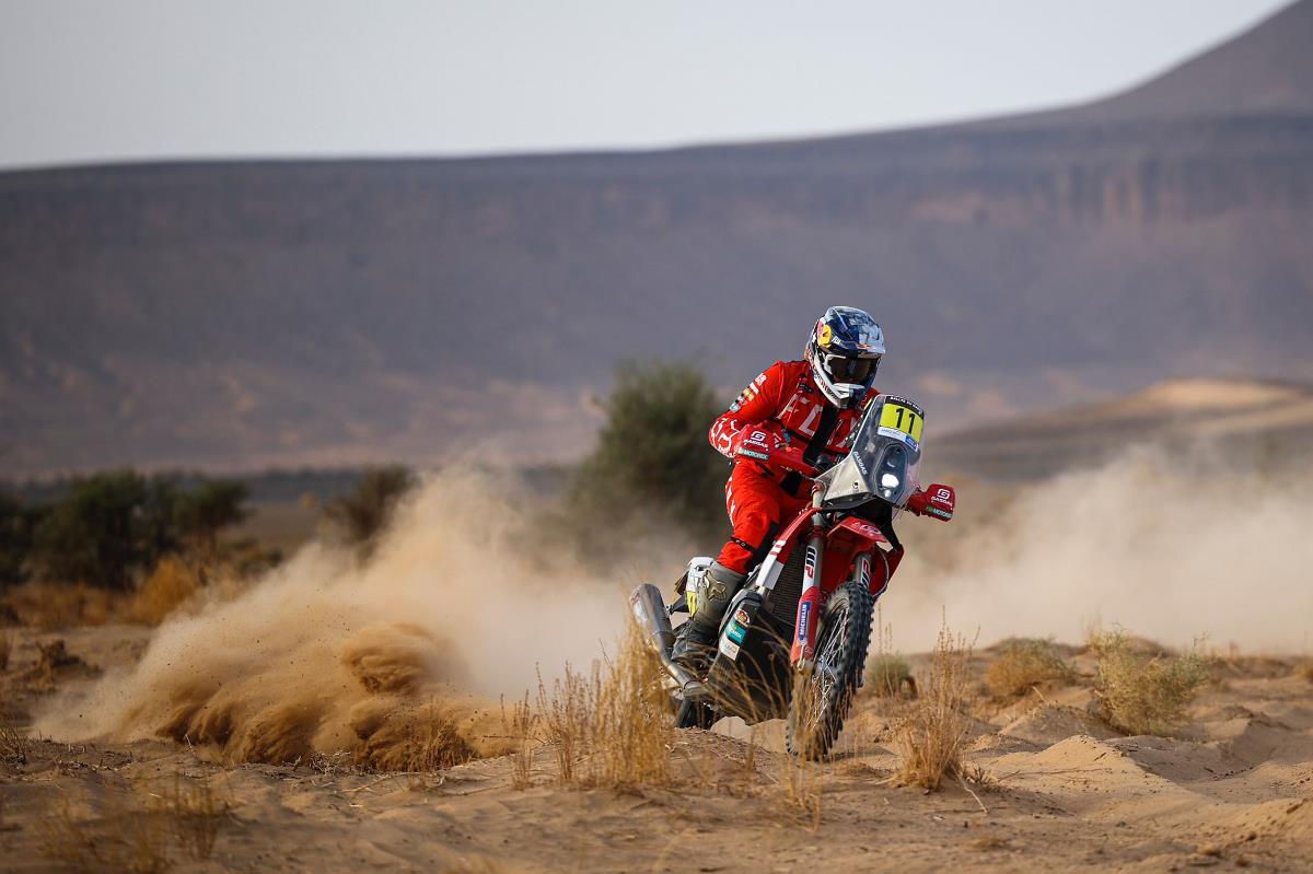 Daniel Sanders dio la sorpresa en la etapa 4 del Rallye du Maroc