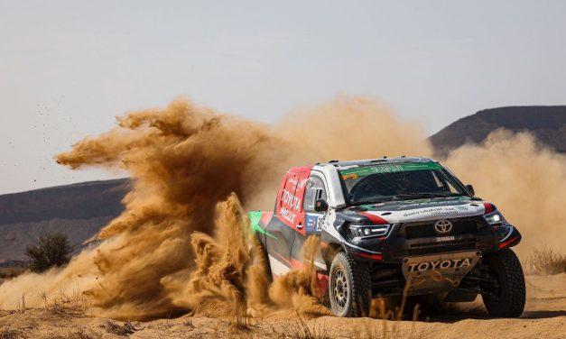 Al Rajhi da pelea y gana la cuarta etapa del Rallye Du Maroc