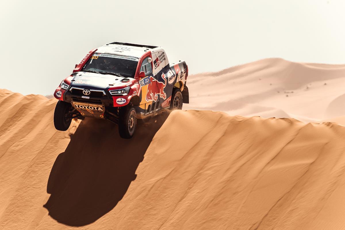 Al-Attiyah continúa con un ritmo imparable en Marruecos