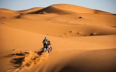 Matthias Walkner se quedó con la etapa 2 del Rallye du Maroc 2021