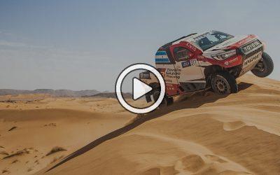 Videos: lo mejor de la etapa 5 del Rallye Du Maroc 2021